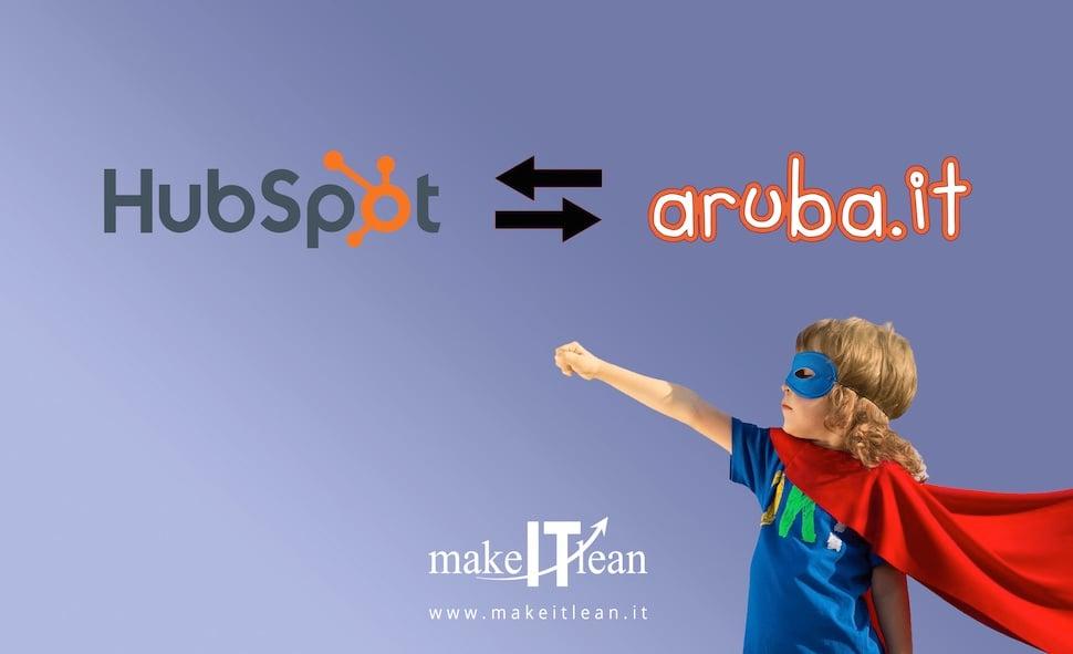 Da Aruba ad Hubspot: come associare l'hosting di Hubspot con il dominio di Aruba