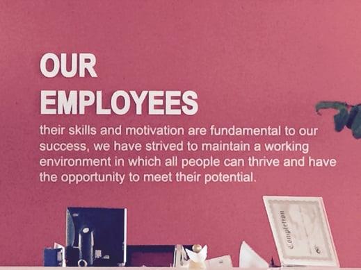 Fate della vostra mission una filosofia aziendale