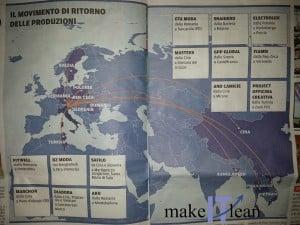 Mappa tratta da Il Messaggero Veneto